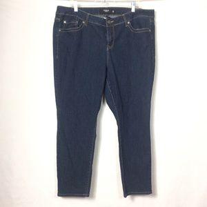 Torrid skinny jeans plus size 20r